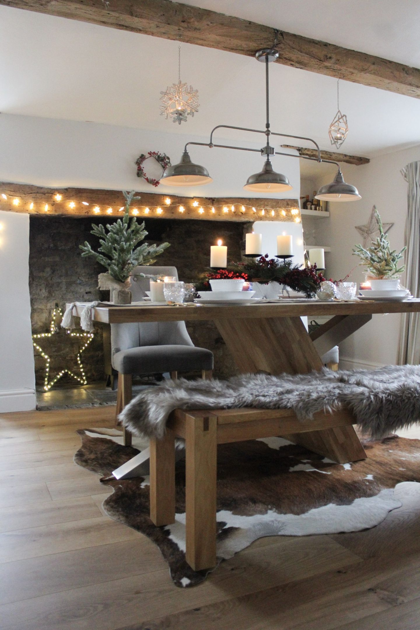 Creating A Festive Table With Homesense / AD