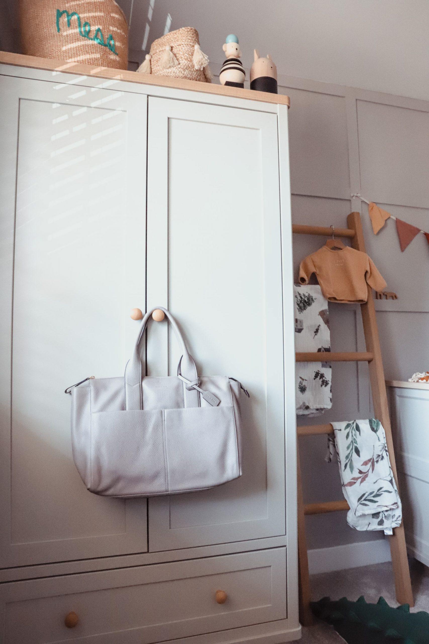 Scandi Inspired grey nursery